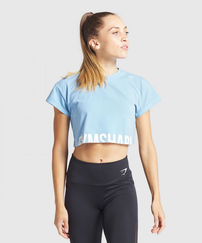 Fraction crop top