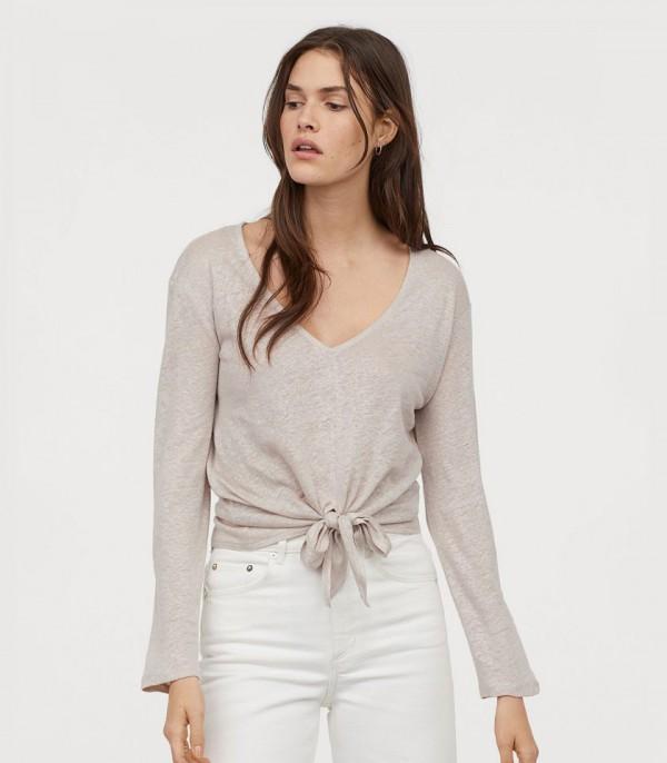 Cream Square Shirt